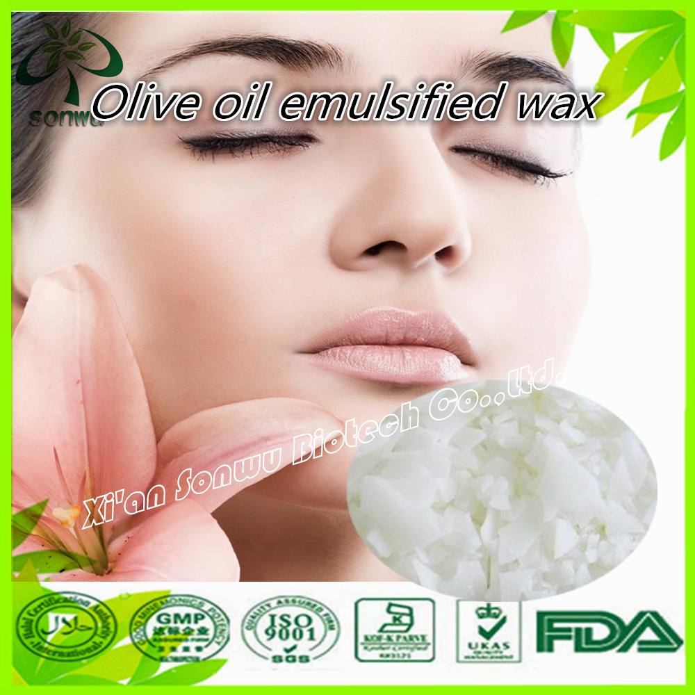 wholesale natrual Olive oil emulsified wax/Olive wax