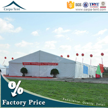 Clear span structure 12mx30m china new exhibition tent for small fair