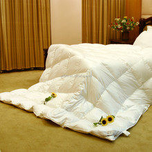luxury white goose down quilt/ Duvet for home and hotel