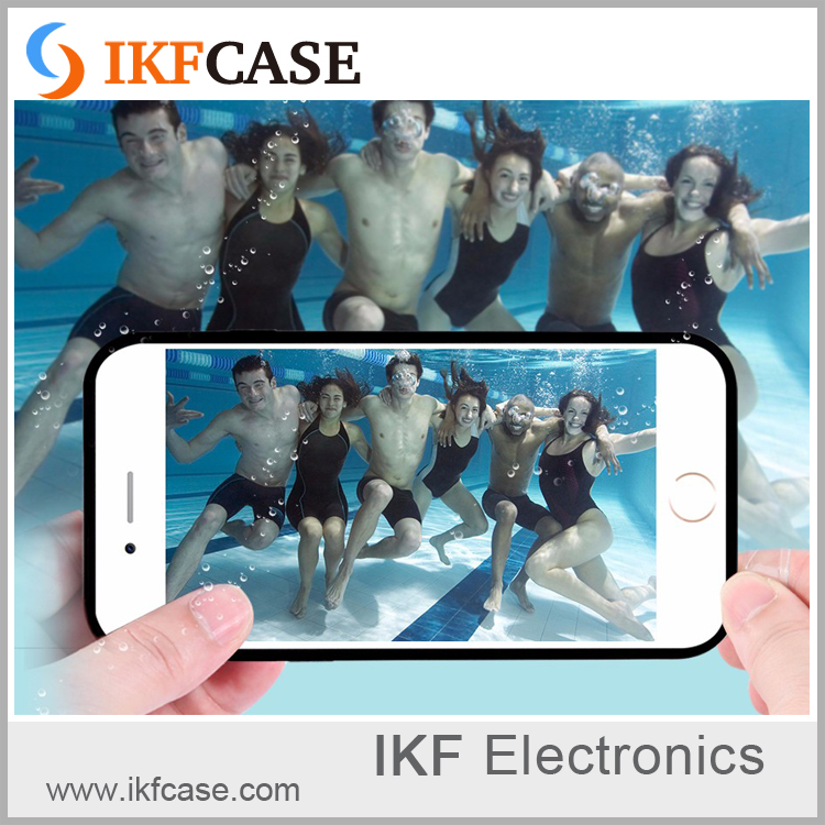 Waterproof Cell Phone Case Swim Drifting Soft TPU mobile phone waterproof bag cover for iphone 6