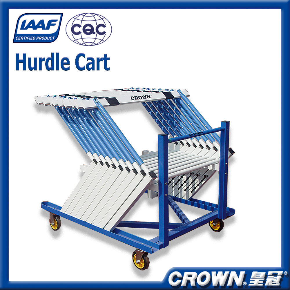 High quality athletic sports equipment factory price moved hurdle cart, hurdle stand carrying cart for jumping hurdles