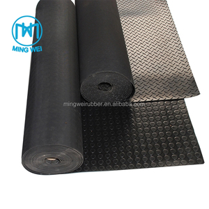 Anti-slip Diamond Rubber Sheet Rubber Matting