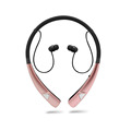Neckband bluetooth stereo earphone with MIC and noise cancellation