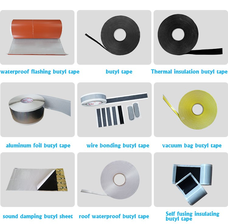 double-sided adhesive butyl mastic sealant tape