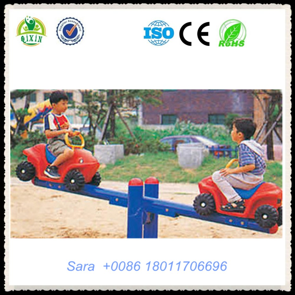 Cool Jeep seesaw for boys CE certificated kids toys suppliers outdoor games for kindergarten kids QX-18092G
