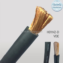Abrastion Resistant Electric Rubber Sheath Heavy Duty Welding Cable