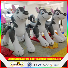 2m advertising inflatable Type inflatable husky , advertising inflatable dog cartoon