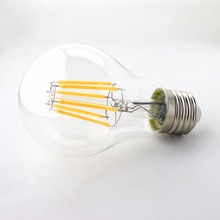 A19/A60 6W Edison Style LED Filament Bulbs, Medium Screw E26/E27 Base Filament Bulb Lights, 60W Equivalent
