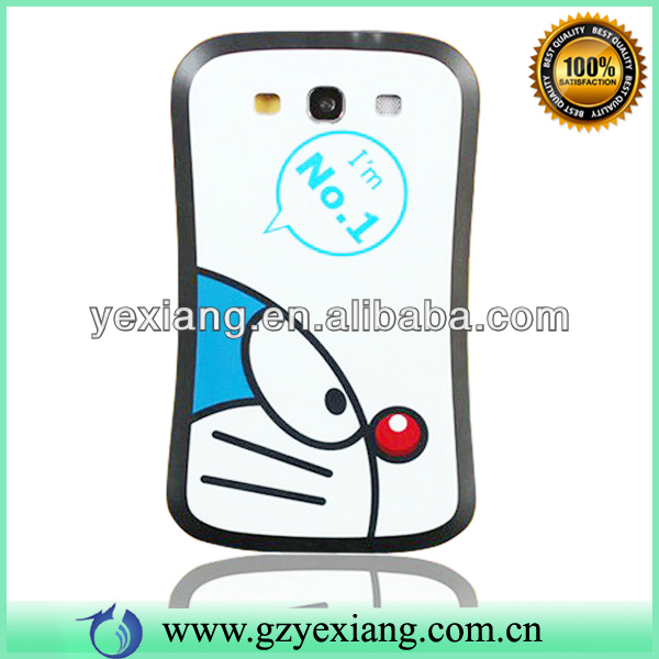 Wholesale IMD Technology Soft Rubber Bumper Silicone Case Cover For Samsung Galaxy I9300 TPU Back Cover