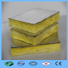 50mm Non Flammable Insulation Soundproof Glass Wool with Alu Foil