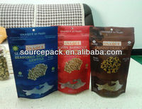 Protein powder packaging for whey protein/doy stand up pouch bags for baby strong power yogurt pouch