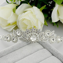 fashion bridal jewelry OEM handmade high quality rhinestone crystal pageant tiaras and crown