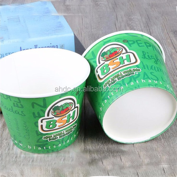 heat resistant 32oz paper soup cup disposable