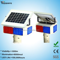 Hot Sale Solar Powered LED Warning Strobe Light