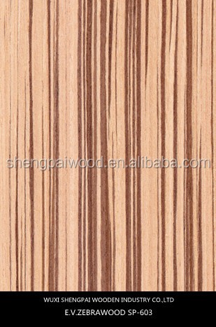 low price hot sale engineered zebrano wood face veneer laos face veneer with top quality zebrano laminated recon plywood sheets
