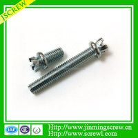 Slotted Cheese Head Captive Screw High Quality anti theft bolt