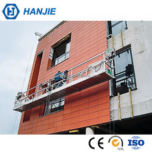 China supplier building glass cleaning machine window washing gondola