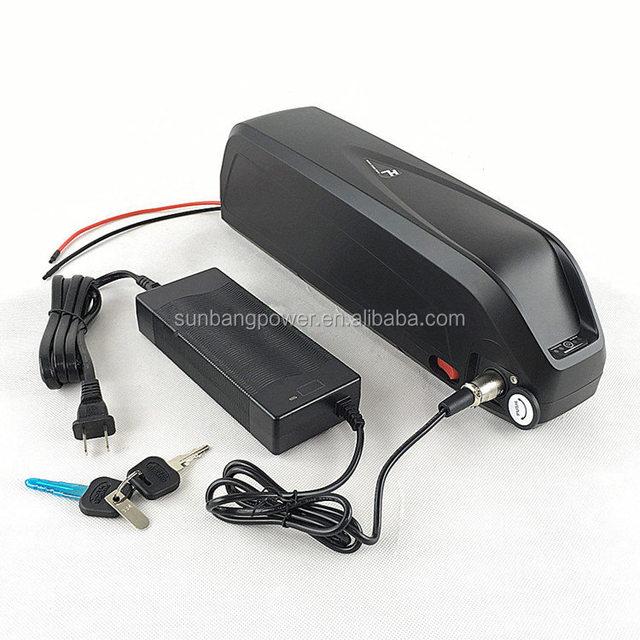 Hailong downtube 1000w 17.5ah e bike battery 48v with USB
