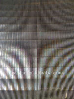 Wedge wire Screen plate for waste paper recycling machine