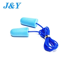 Wholesale Pu foam mix colour fashional disposable foam bullet sleeping ear plug with CE