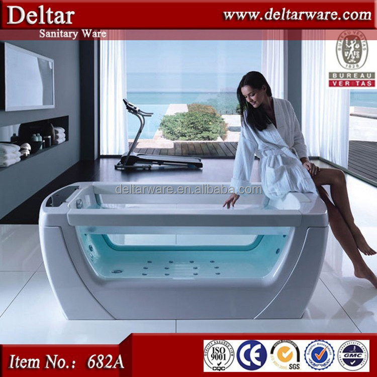 hot sale Walk in tub with lift for old and disabled people bath tub