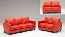 Modern PVC leather sofa sets for living room