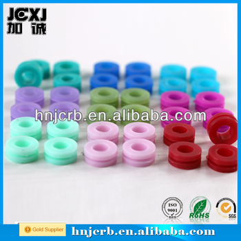 Standard silicone colored rubber grommet