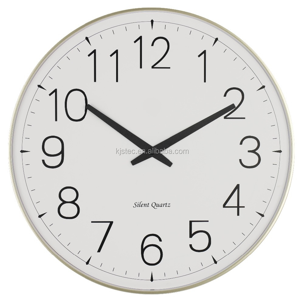 companies art digital wall clock