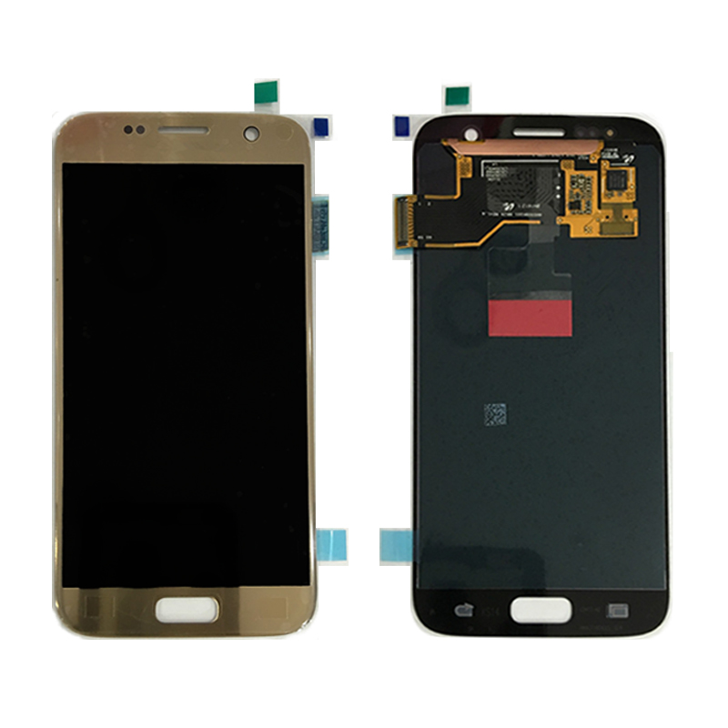 100% original touch digitizer screen replacement for samsung galaxy s7 lcd