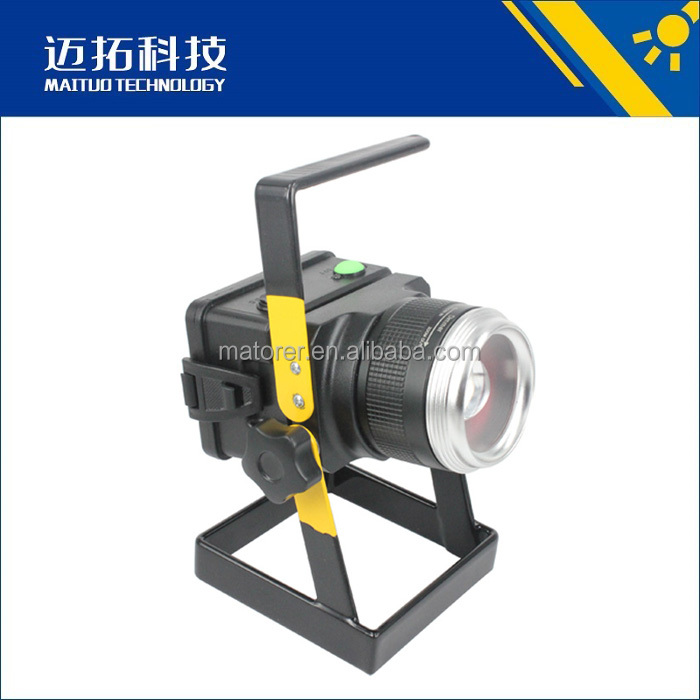 Ningbo Ninghai zoom led emergency lighting rechargeable aluminium floodlight emergency lights
