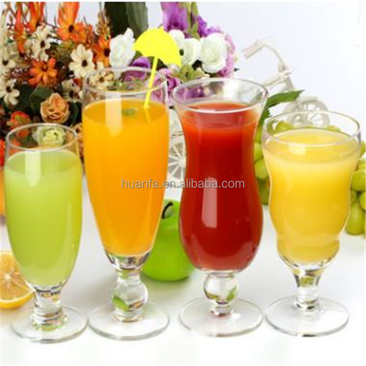 Eco-friendly wholesale highball Clear Cocktail Glass Fruit Juice Mug For Milk Tea Water