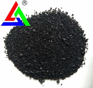 factory supply bright black crystals sulphur black br for cotton textile dyeing
