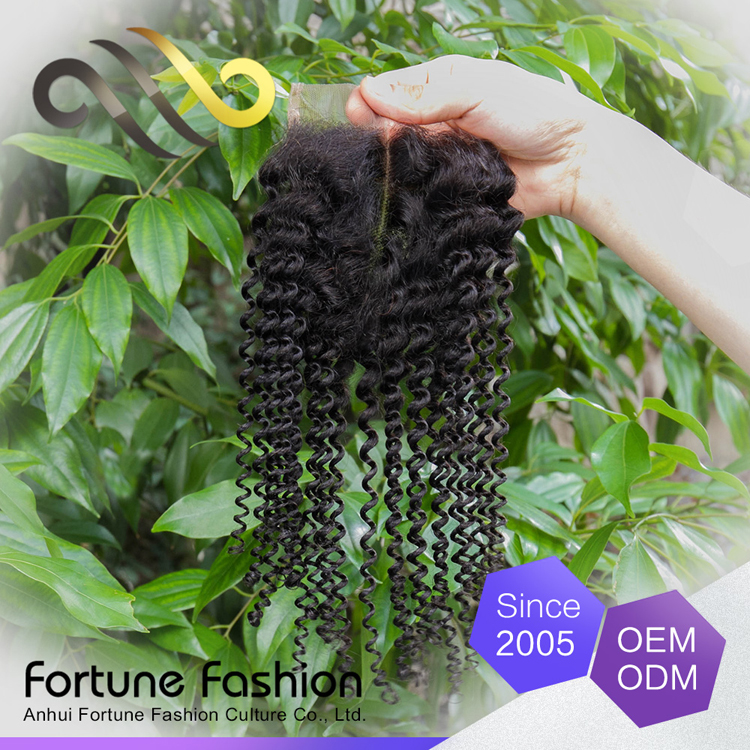 New Creative Product Special Hair Pieces Sew Kinky Curly Lace Frontal Closure 4x4 13x4 13x2 Hairline Closure