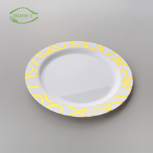 Available polystyrene tapas round reusable wedding disposable cheap christmas kids plastic commercial wholesale dinner plates