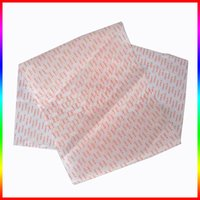 Customized pearl logo paper for gift wrapping paper packing watches jewel boxes