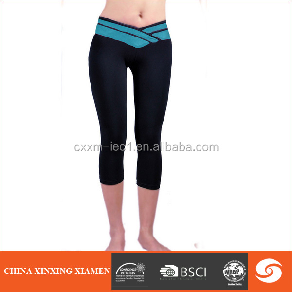 wholesale China women wearing tight yoga pants