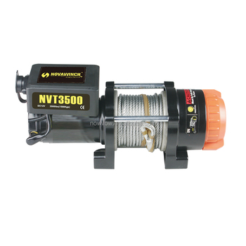 2015 Hot Sale 3500lbs mini 12v atv winch with Control Box NVT3500