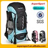 Waterproof mountain bag with high quality 45L capacity hiking bag