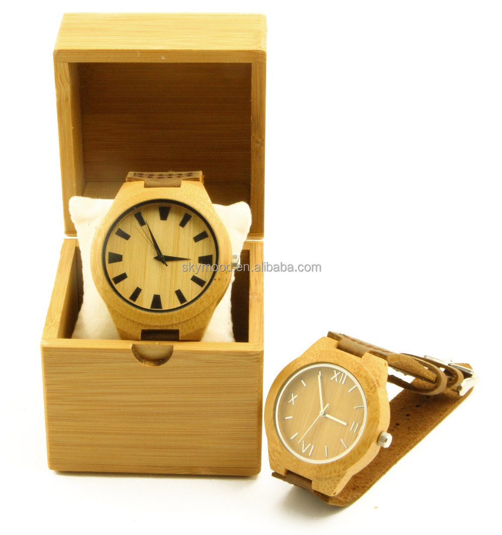 Cheap Boxes For Wooden Bamboo Wood Watches Cheap Display Gift Watch Packaging Box