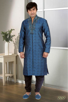 High neck pattern Indo Western Style Kurta