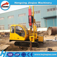 Best Manufacturer of Highway Guardrail Pile Driver/Solar Panel Install Machine