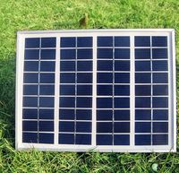 18V 5W Monocrystalline Silicon Solar Panels Module kits Solar Cells For Battery