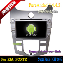 Car dvd player with wifi in Navigation & gps for Kia Cerato Forte 2008-2012 android 4.4 quad core