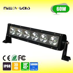 High quality 60W low power consumption optical reflector efficiency led light bar
