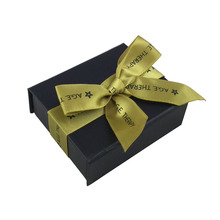 wholesale black packaging box rigid black gift wine boxes paper packing