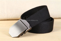 Customization fabric belts fashion men woven belt