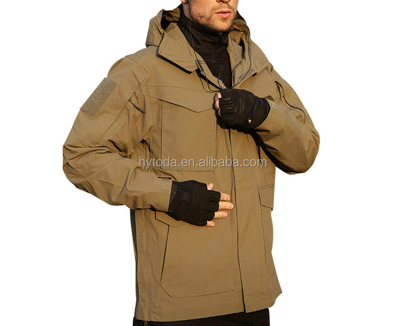 Hunting clothing waterproof reversible men hunting clothes accept small order