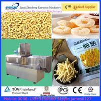 Crispy Puffed Corn Snacks Making Machine/snacks Food Extruder
