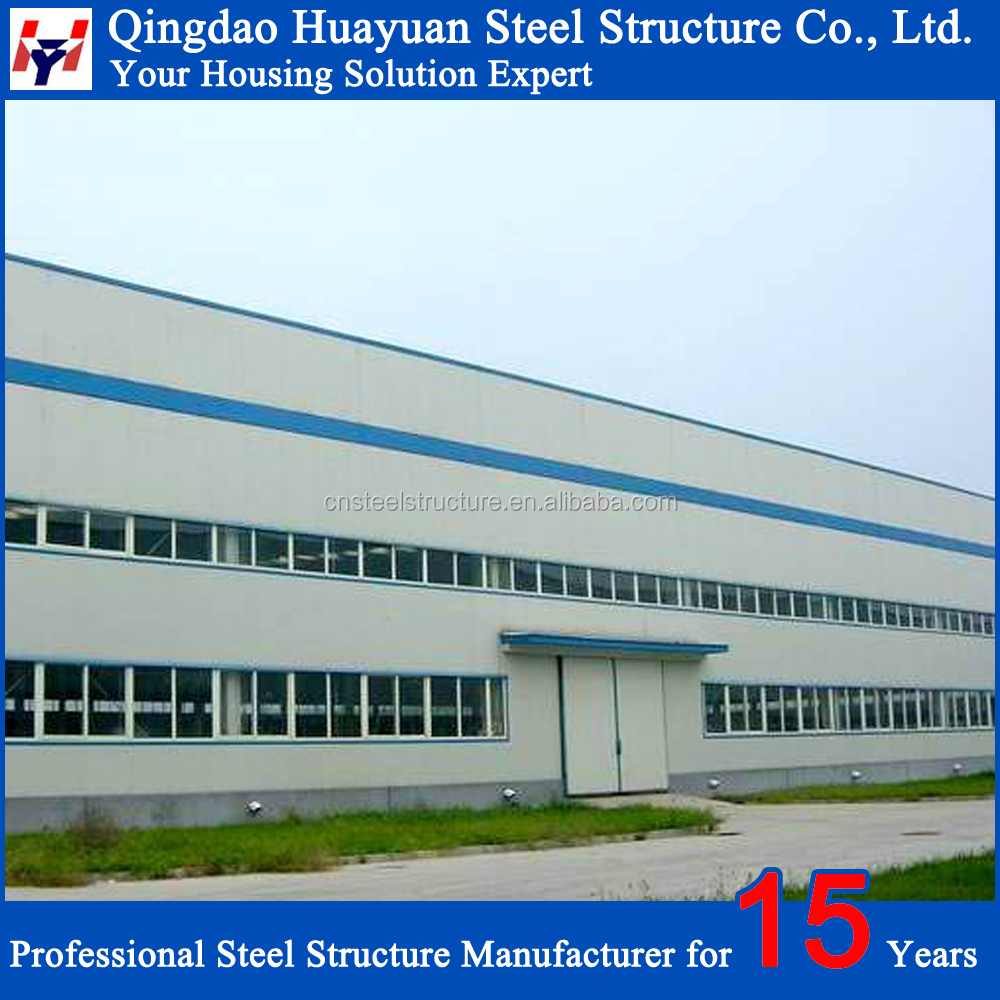 2016 China high quality steel structure prefabricated warehouse price in Mexico