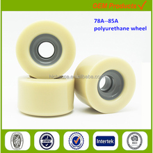 solid PU wheel customized handling equipment accessories